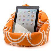 Crashmat - Orange Circles Bubble Mini iPad Bean Bag