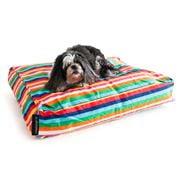 Crashmat - Rainbow Stripe Woof Pet Bed