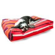 Crashmat - Tangerine Dream Stripe Woof Pet Bed