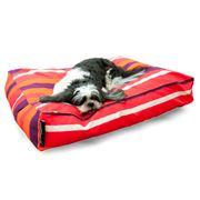 Crashmat - Tangerine Dream Stripe Woof Pet Bed