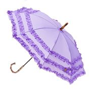 Clifton - Frilled Lilac Kids' Umbrella
