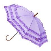 Clifton - Frilled Lilac Kids' Umbrella