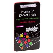 Purple Cow - Magnetic Secret Code Travel Game