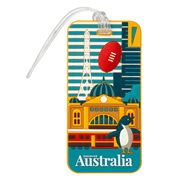 AT - Australia Luggage Tag Melbourne