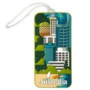 AT - Australia Luggage Tag Queensland
