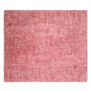 Modern Twist - Silicone Linen Cranberry Placemat