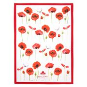 Ashdene - Poppies Tea Towel