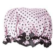 StyleSetter - Polka Dot Pink Shower Crown