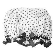 StyleSetter - Polka Dot White Shower Crown