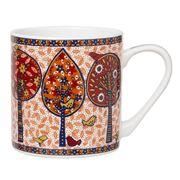 Queen's - Wild Wood Vermilion Mug