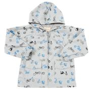 Britt - Grey Motorbike Raincoat 2-3 Years