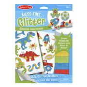 Melissa & Doug - Mess-Free Glitter Adventure Stickers Set
