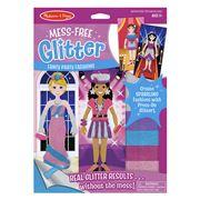 Melissa & Doug - Mess-Free Glitter Fancy Party Fashions Set