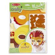 Melissa & Doug - Simply Crafty Safari Mask Set