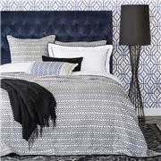 Linen & Moore - Haman Quilt Grey King