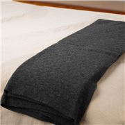 Bemboka - Angora/Superfine Merino Lightbox Throw Charcoal