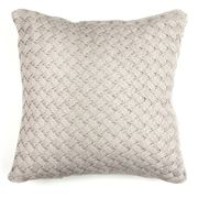 Papaya - Argyle Eggshell Cushion
