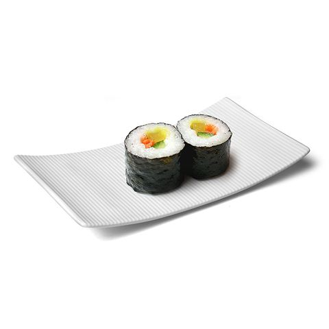 NEW Lifestyle Stripe Sushi Dish 21x15cm