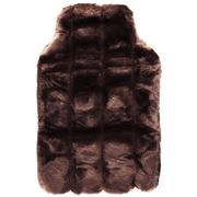 Minimink - Small Chocolate Hot Water Bottle Cover