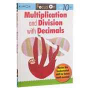 Book - Kumon Focus On Multiplication & Division w/ Decimals