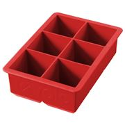 Tovolo - King Ice Cube Red Tray