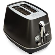 DeLonghi - Distinta Black 2 Slice Toaster