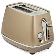 DeLonghi - Distinta Bronze 2 Slice Toaster