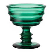 Kosta Boda - By Me Emerald Footed Bowl