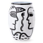 Kosta Boda - Caramba Vase 34cm White