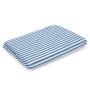 Lintex Linens - Krayons Stripe Blue Tablecloth 228x228cm