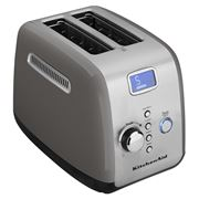 KitchenAid - Two Slice Toaster KMT223 Contour Silver