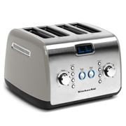 KitchenAid - Four Slice Toaster KMT423 Contour Silver