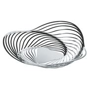 Alessi - Trinity Fruit Bowl Small Silver