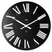 Alessi - Firenze Black Wall Clock