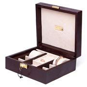 Renzo - Brown Thesius Leather Jewellery Box
