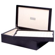 Renzo - Black Thesius Leather Box For 24 Pens