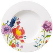 V&B - Anmut Flowers Deep Plate 25cm
