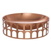 Paola C - Colosseum I Copper Fruit Bowl