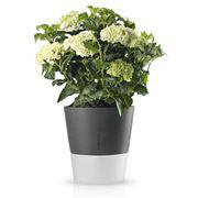 Eva Solo - Self Watering Stone & White Flower Pot