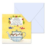 Affirmations - Happy Birthday May Your Tea Leaves Card
