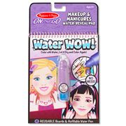 Melissa & Doug - Water Wow! Makeup & Manicure Colouring Pad