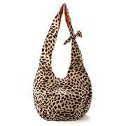Condura - Leopard Print Cotton Beach Bag