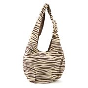 Condura - Zebra Print Cotton Beach Bag