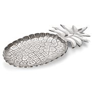 OneWorld - Silver Nickel Pineapple Dish