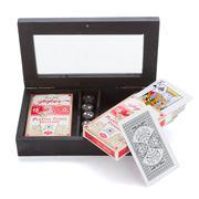 OneWorld - Wooden Card & Dice Box