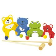Pintoy - Four Friends Croquet Set 10pce