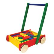 Pintoy - Baby Walker with Blocks Set 24pce