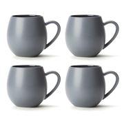 Robert Gordon - Hug Me Grey Mug Set 4pce