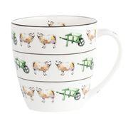 Hudson & Middleton - On The Farm Sheep Mug