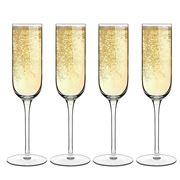 Luigi Bormioli - Sublime Champagne Flute Set 4pce